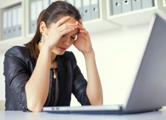 Sad Hiring Manager - Business Woman on Laptop
