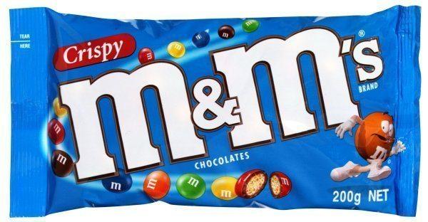 crispy m&ms