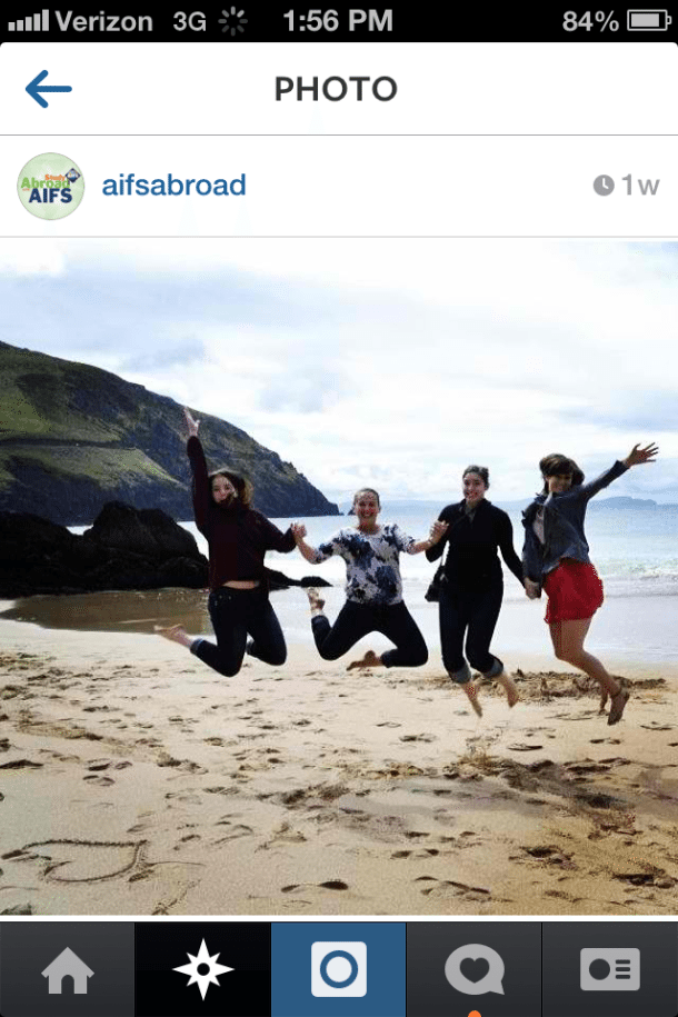 instagram and study abroad