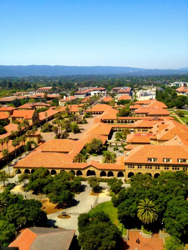 stanford from hoover tower