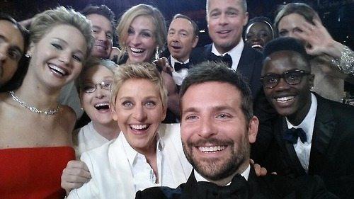 2014 Oscar Selfie