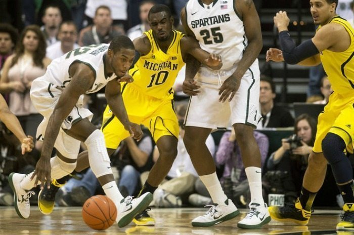 Michigan v Michigan State Basketball