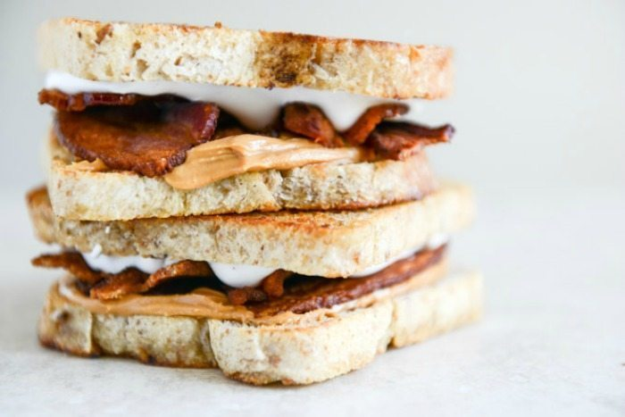 Toasty Bacon Fluffernutters