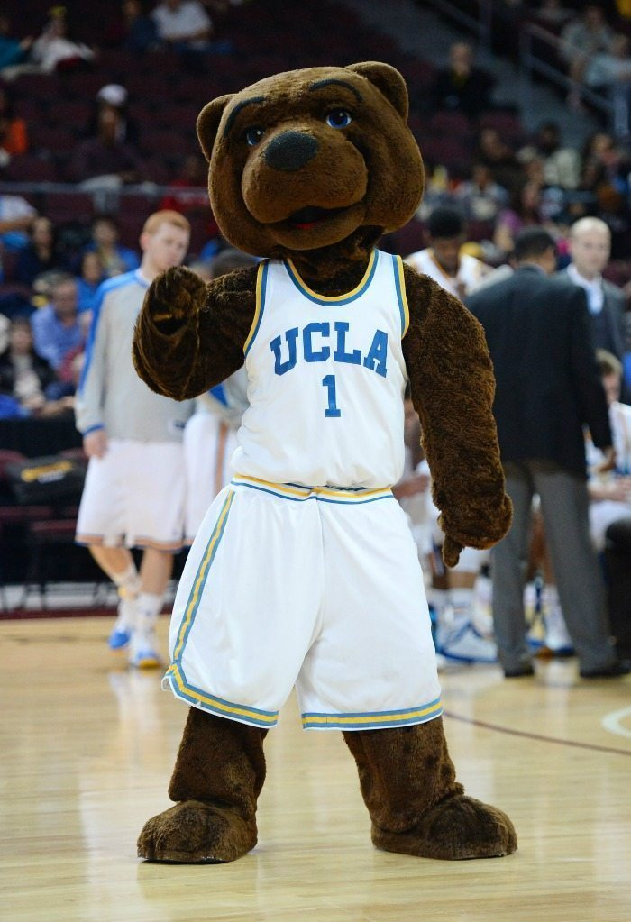 UCLA Bruins Bear Mascot Monday 2