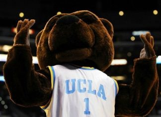 UCLA Bruins Bear Mascot Monday