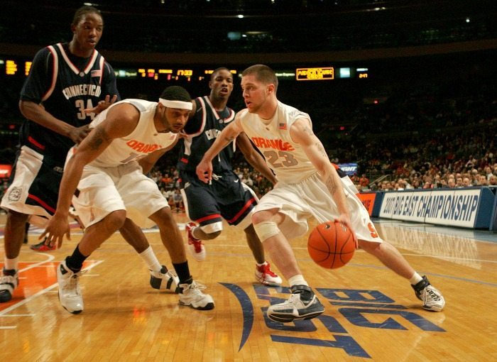 Uconn v Syracuse Basketball