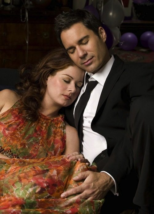 Will and Grace Sleeping