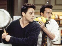 joey and chandler friends