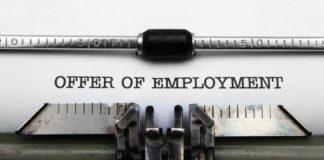 Offer of Employment - Landing Your Dream Job
