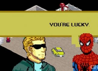 Spider-Man 8 Bit Cinema