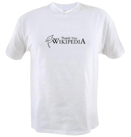 Thank You Wikipedia Shirt