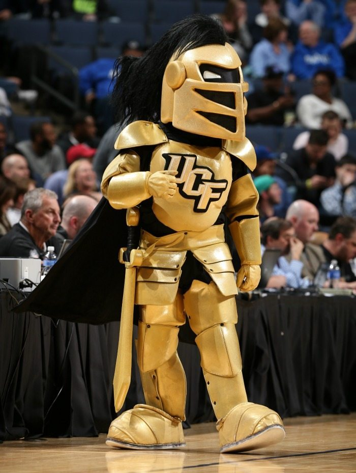 UCF Knights - Central Florida Knights - Knightro - Mascot Monday 1