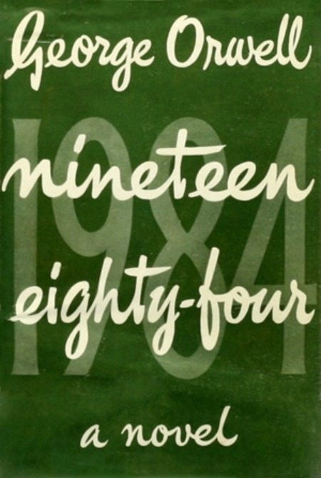 george orwell 1984 book cover