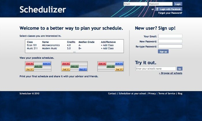 schedulizer back to school