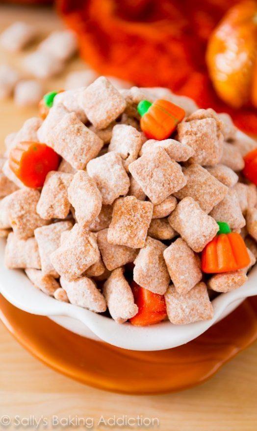 Puppy Chow Pumpkin Spice
