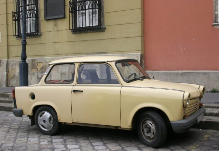 trabant german cars