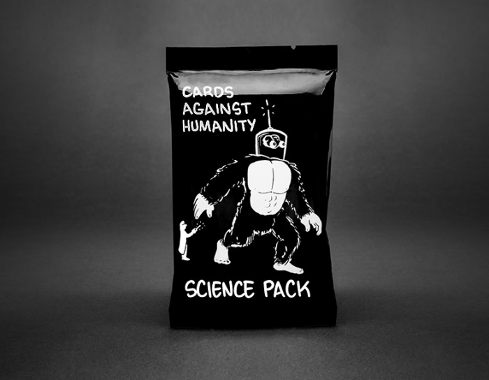 cards against humanity science pack