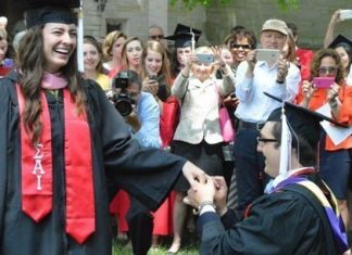 college marriage proposal princeton