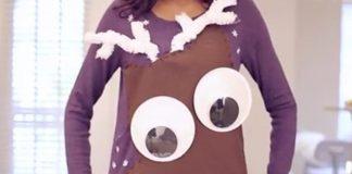 ugly christmas sweater reindeer