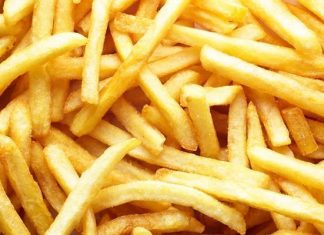 history of french fries