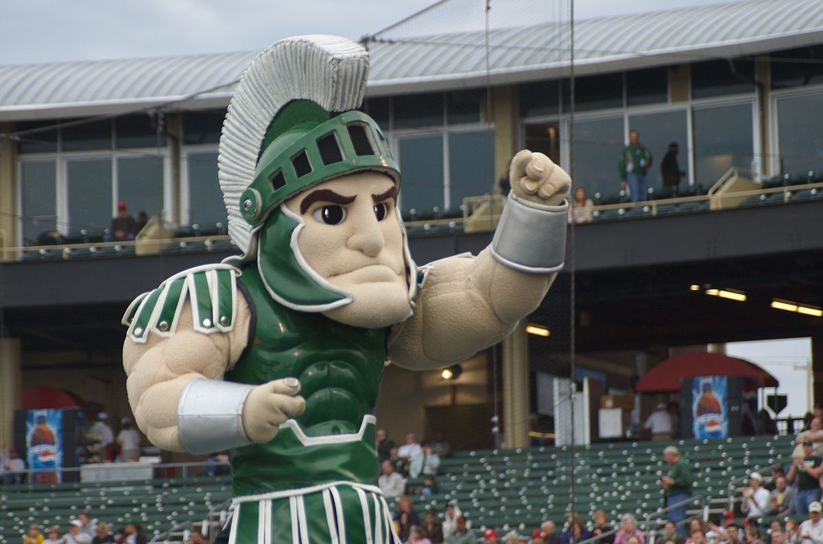 Michigan State University Spartans Mascot