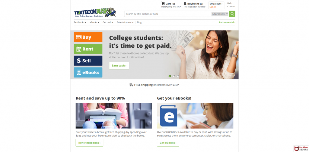 find cheap textbooks textbookrush homepage