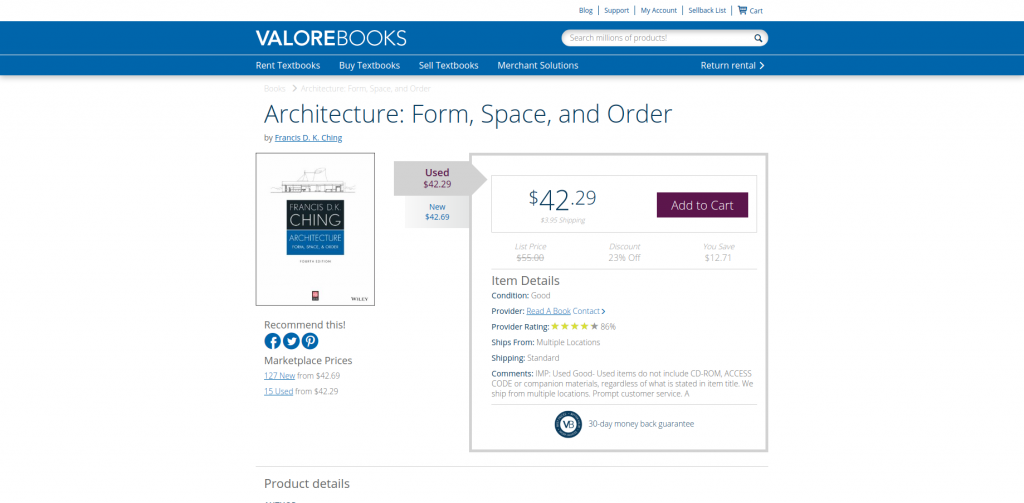 where to buy cheap textbooks valorebooks example